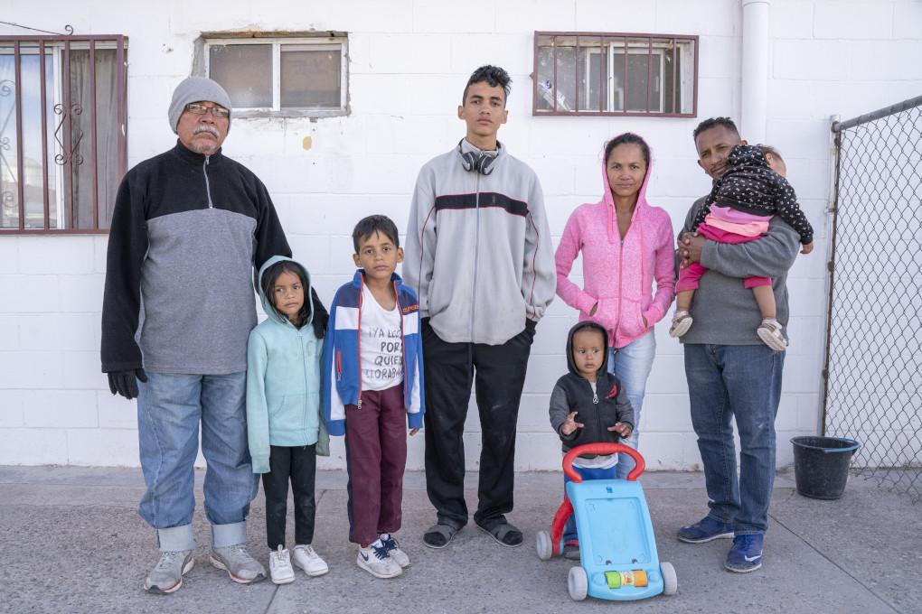 Antonio Moreno, 57, Alanis Aurora, 5, Fabian Alejandro, 8,