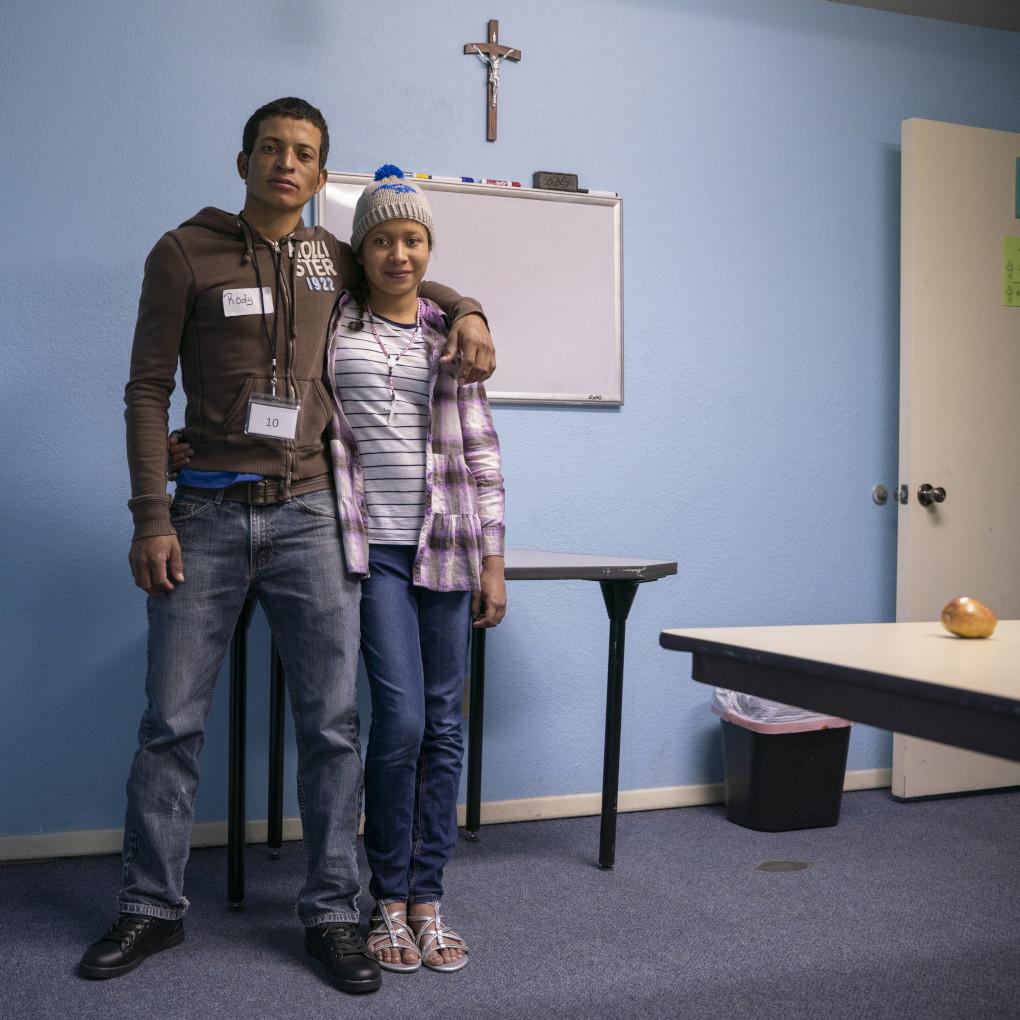 Rody Oliva, 29 and Maria, 12