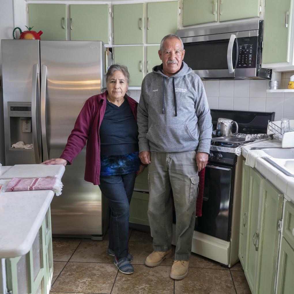 Jose Luis Frias, 69, Maria Frias, 68